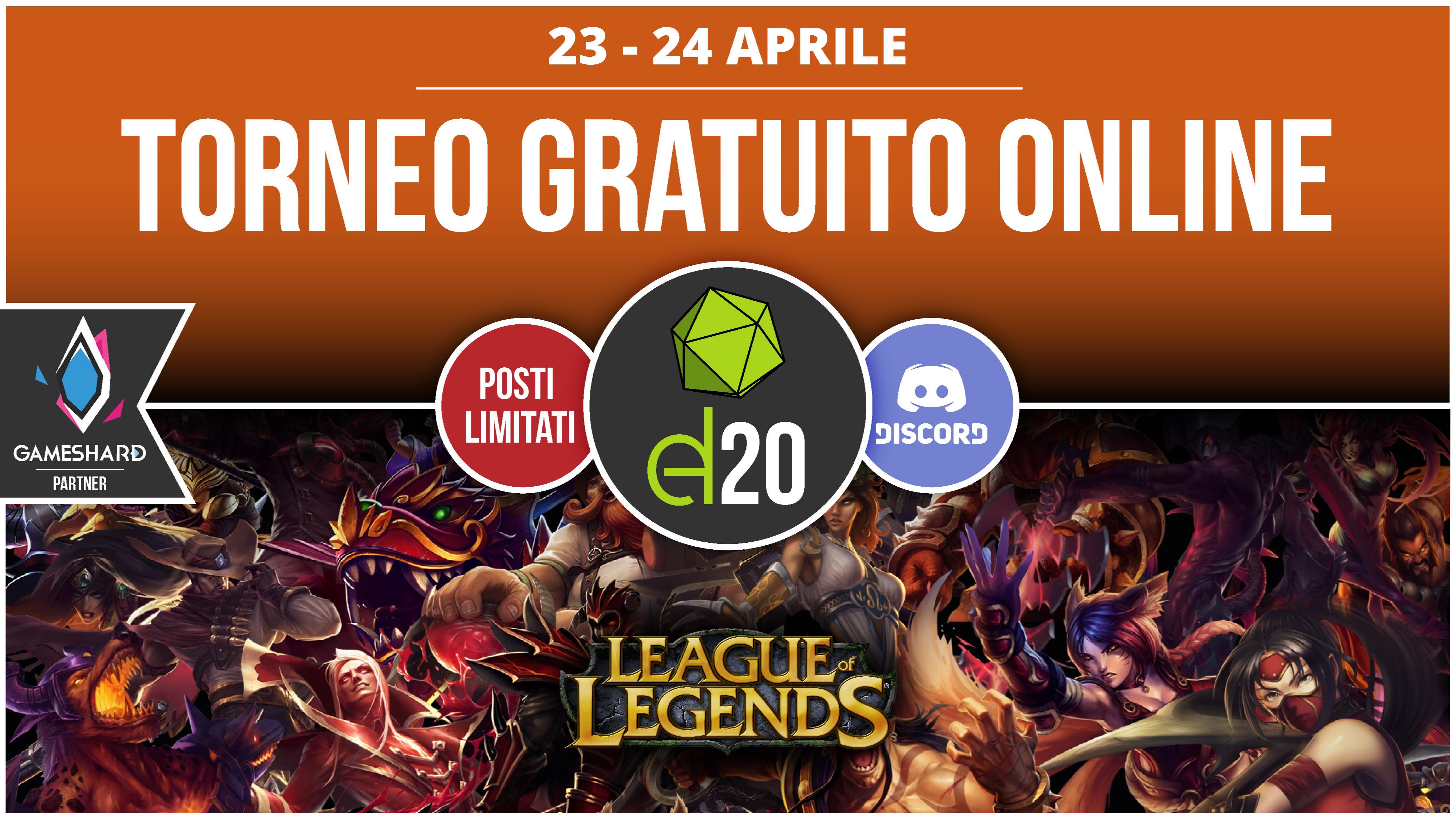 Torneo d20 League of Legends's thumbnail